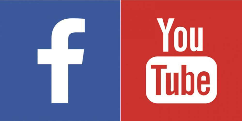 facebook et youtube